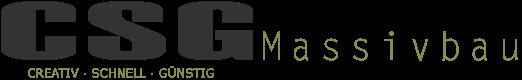 CSG-Massivbau Jübek GmbH Logo